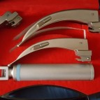 McIntosh Laryngoscope, Complete with 3 Blades, in a Box Laryngoskop Intubation Laryngoskopspatel