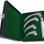McIntosh Laryngoscope, Complete with 4 Blades, in a Box