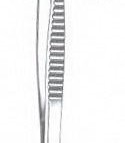 Cooley Vascular Tissue Forceps, 2mm Wide Jaws 6″ (15.2cm)