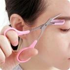 Eyebrow Trimmer Facial Hair Remover Scissors Eyelash Comb Remover Beauty Tool