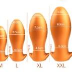 Giant anal plug buttplug erotische produkte für erwachsene 18 silikon stecker großen butt plug anal kugeln vaginal anal expander bdsm spielzeug