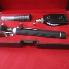 Fiber optic Opthalmoscope & Otoscope Diagnostic medical Set